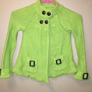 Other - Green girls sweater